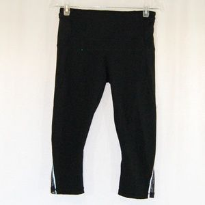 Lululemon All Black Capri Pants